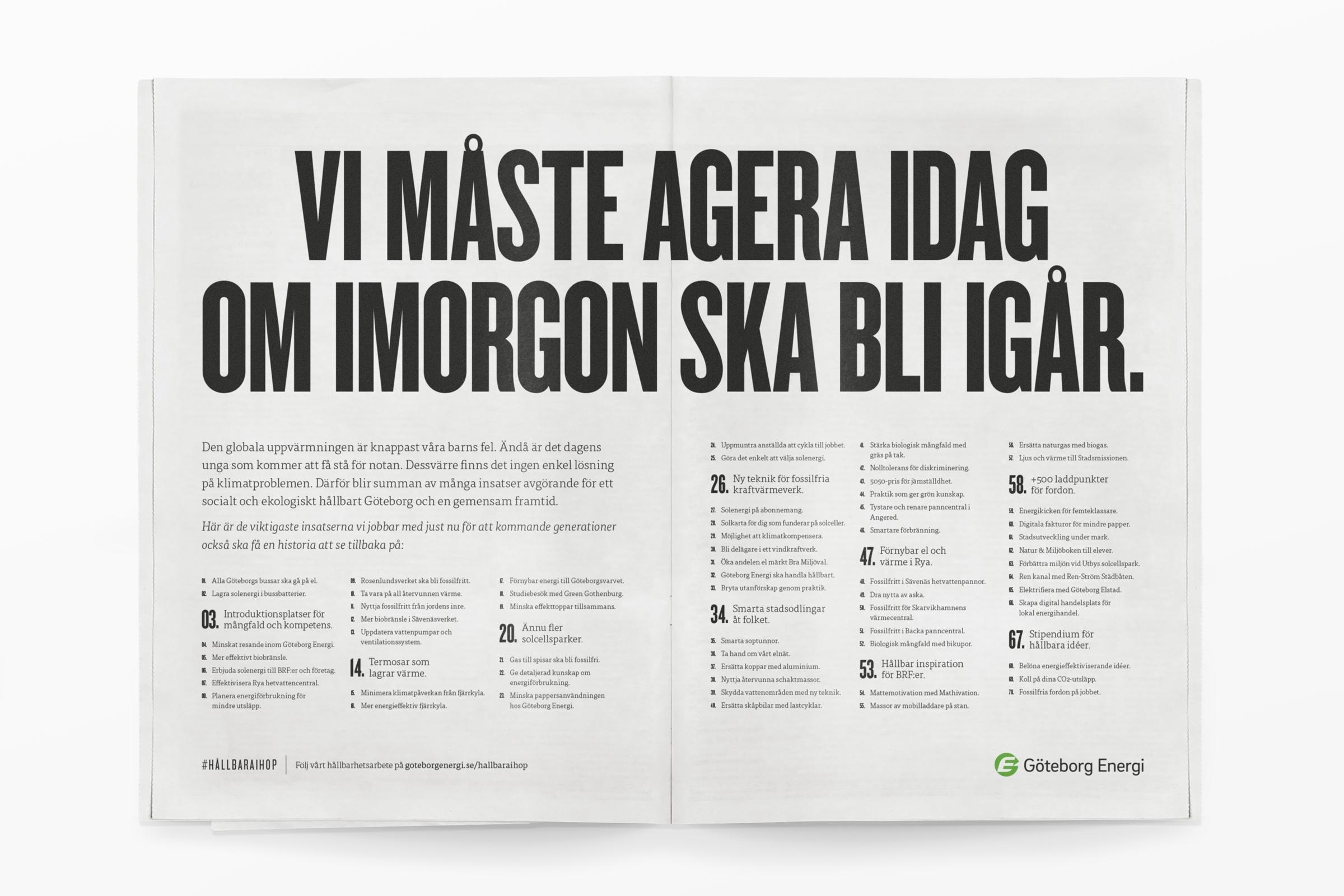 Göteborg Energi Uppslag